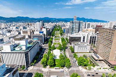道内主要都市対応可能